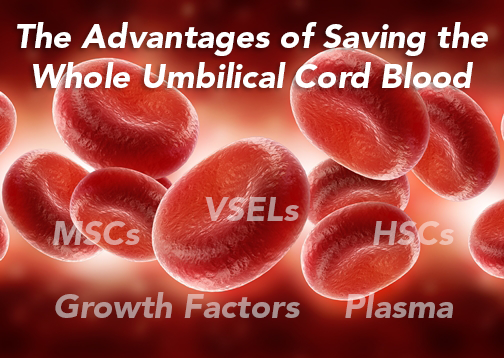 whole cord blood stem cells